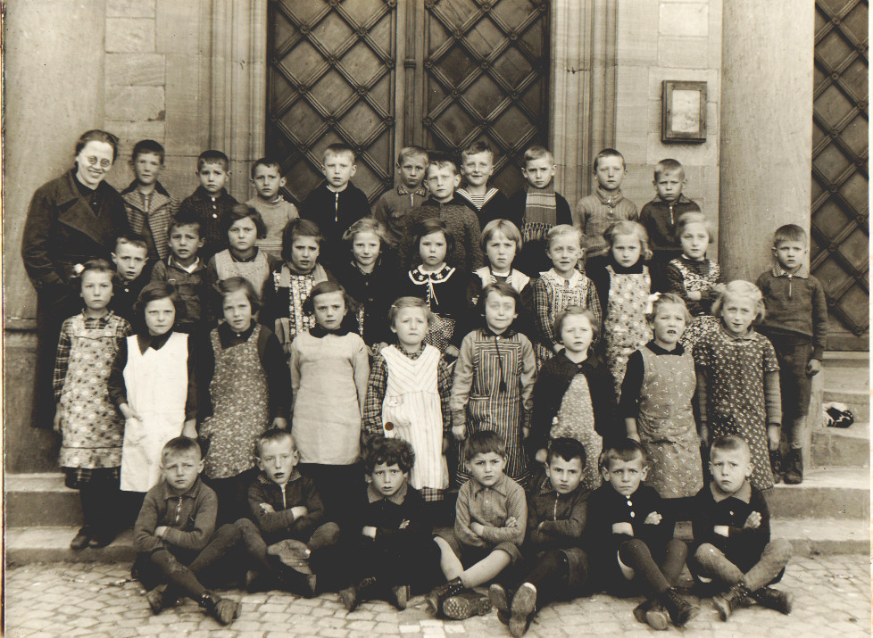 Geburtsjahrgang 1931 und 1932, Klassenbild von 1938