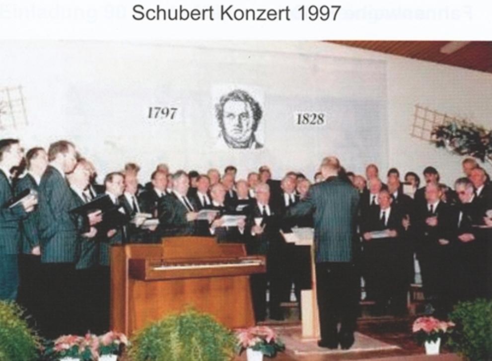 Schubertkonzert 1997