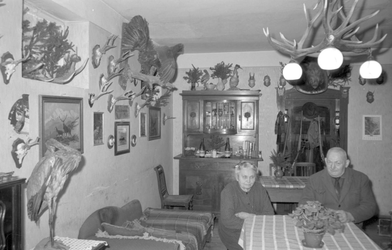 Karl Mohr (1888 bis 1974) und Anna Maria Elisabeth Mohr (geb. Kästel) 1890 bis 1973