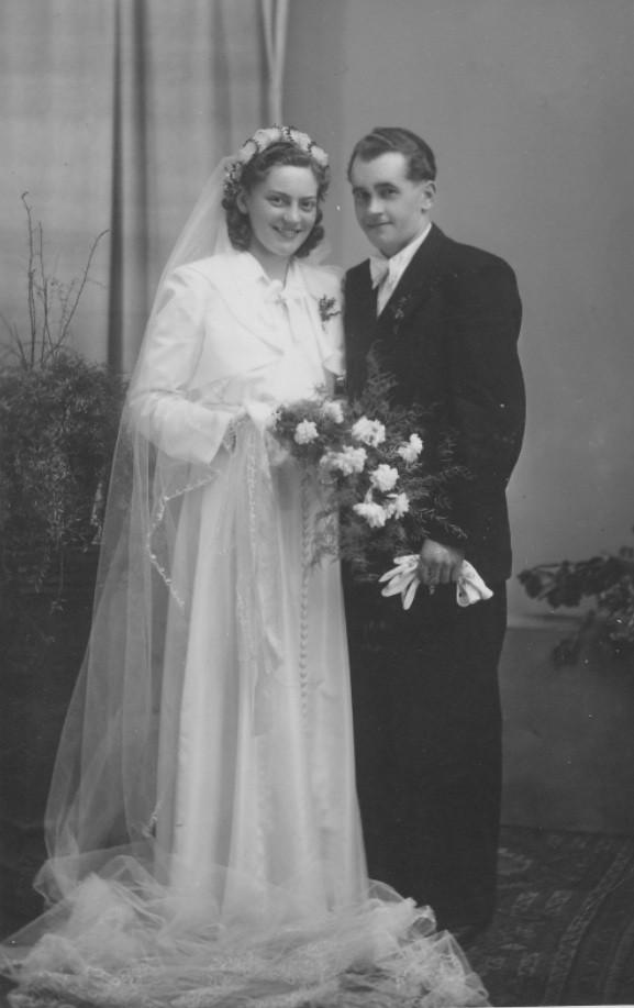 Ehepaar Hoffmann Willi und Luzia geb. Kästel