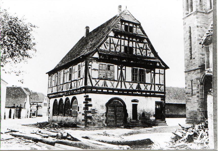 Rathaus von 1594