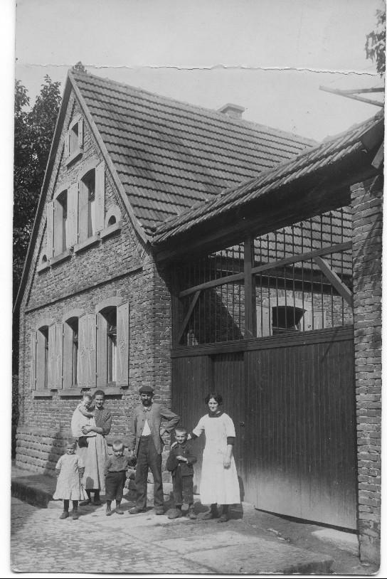 Haus von Franz Kästel, 1907 erbaut, im Neuen Weg, heute Auf den Osterwiesen, 1912