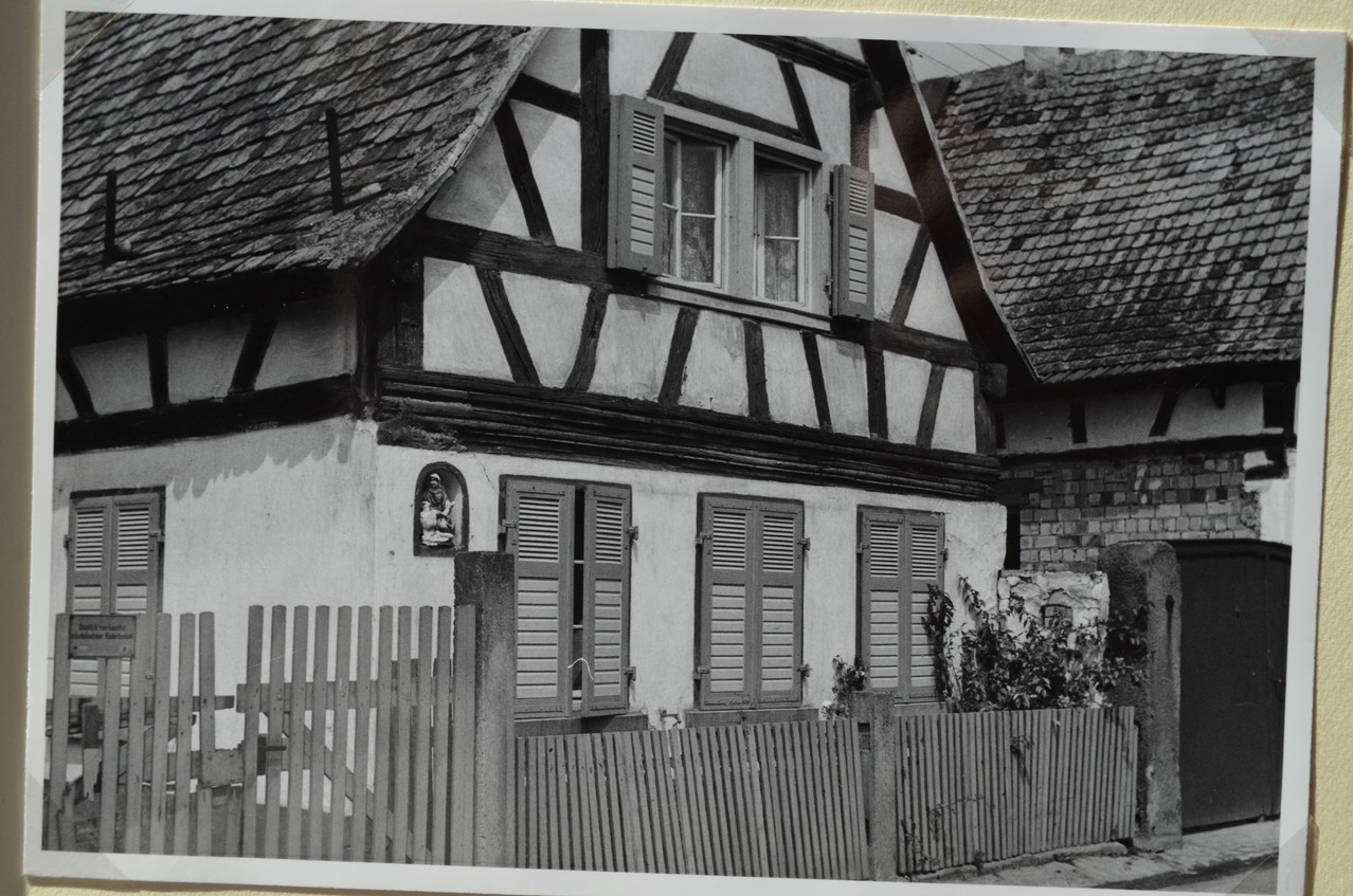 Haus von Franz Hoffmann, Weihergasse