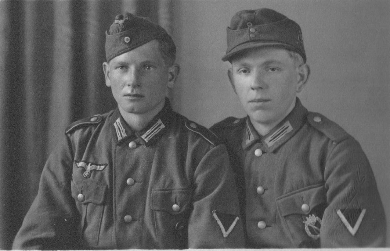 """Henrich Rudolf (""""Gruberbibel"""") und Nebel Hermann (Chausseegard)"""