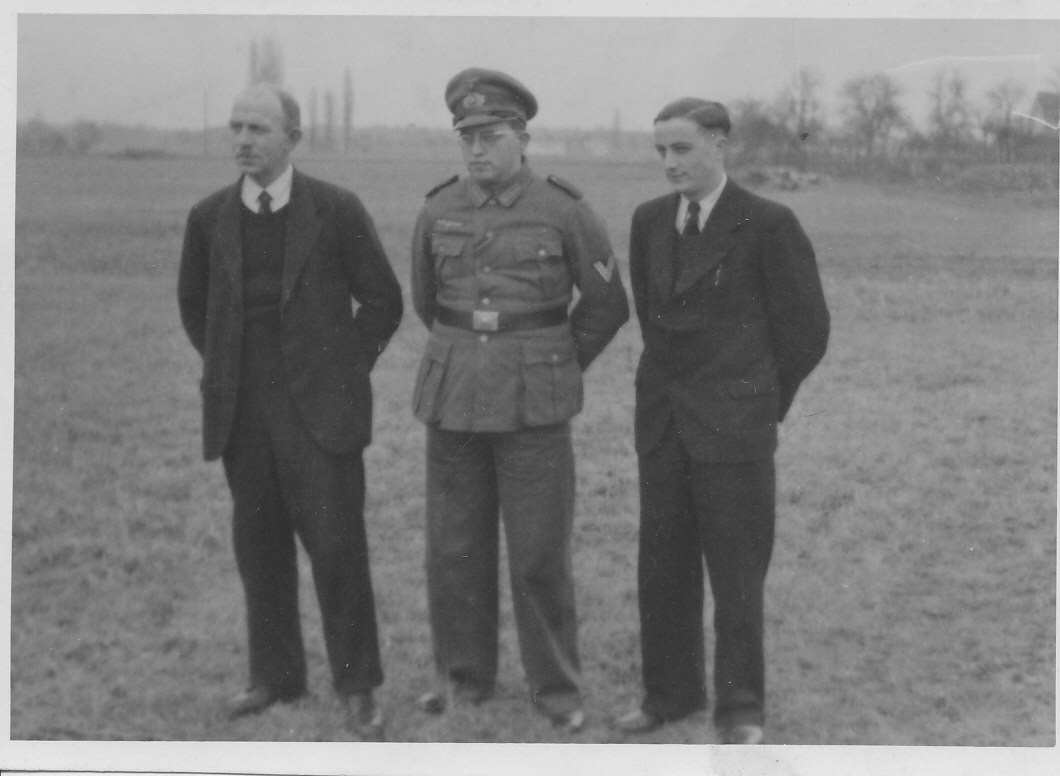 v.l. Brüder Karl, Alfons und Gustav Schaaf