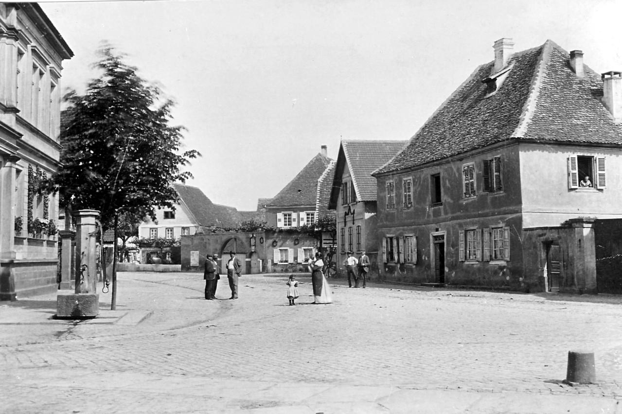 Ortsmitte 1910