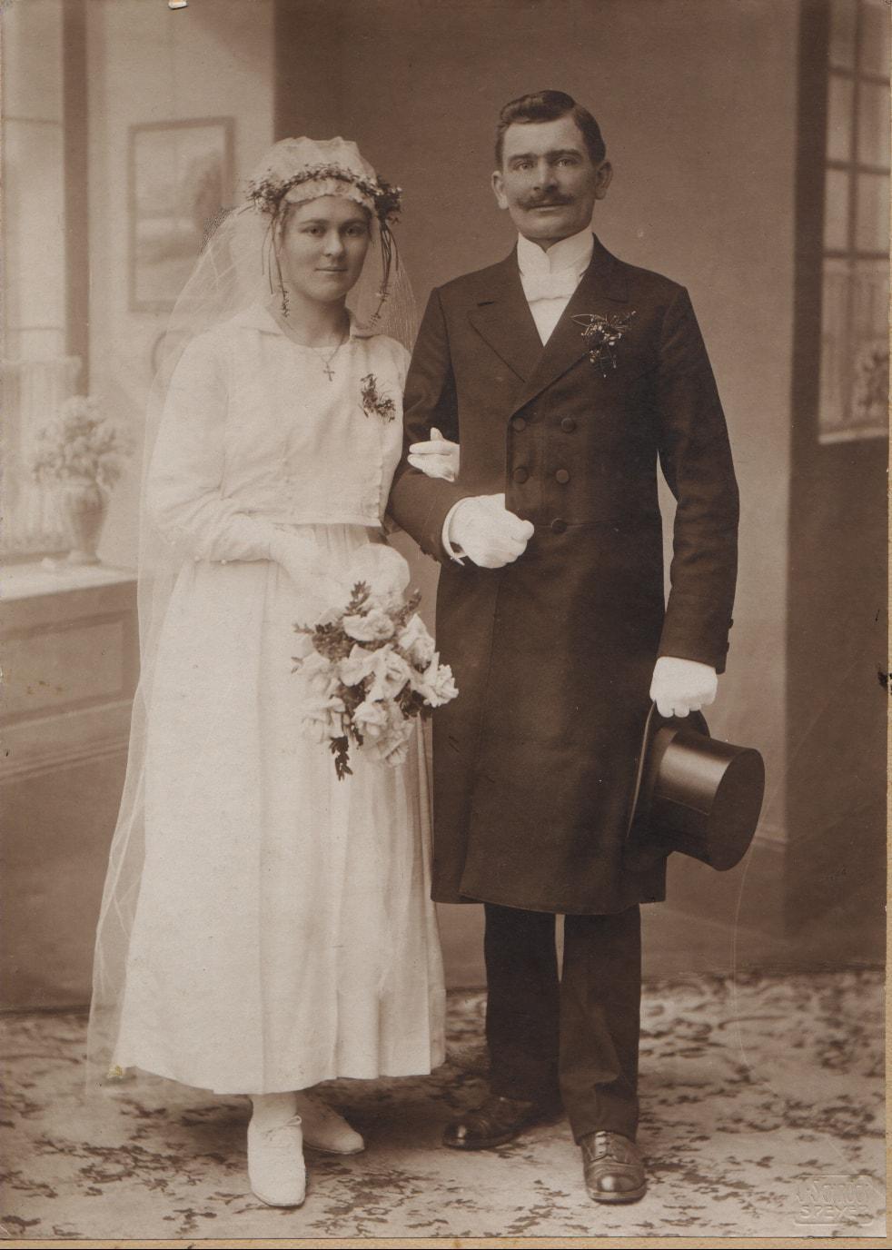 Hochzeit August Steinmetz 1919