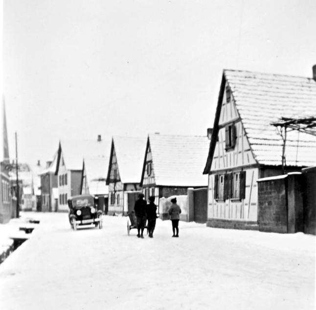 Oberdorf im Schnee (R. Hoffmann)