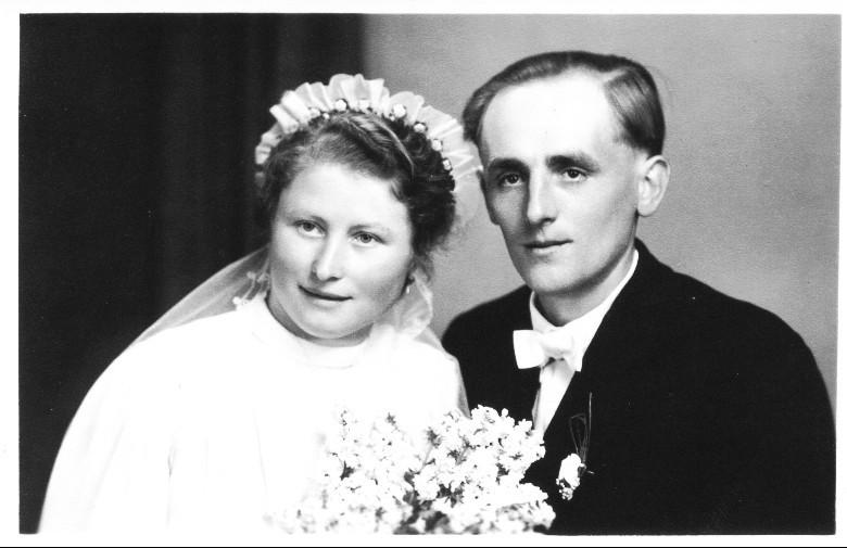 Ehepaar Henrich Alfons und Frieda geb. Kästel