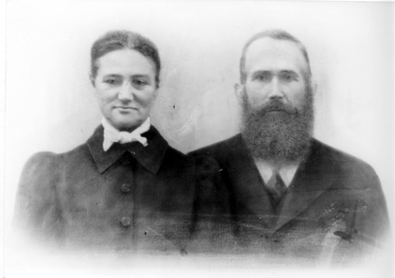 Jakob Schaaf mit Ehefrau Anna geb. Eichberger, Großeltern von Geschwister Croneis
