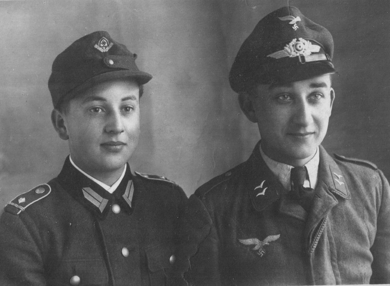 Günter und Harry Stadler, aufgenommen im Frühjahr 1944