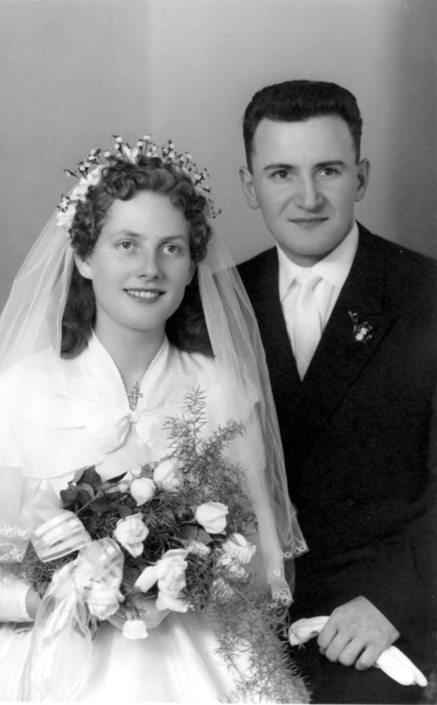Ehepaar Stebler Hans und Annemarie geb.