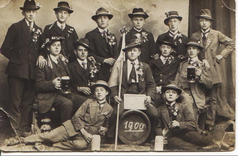 Musterung Geburtsjahr 1900