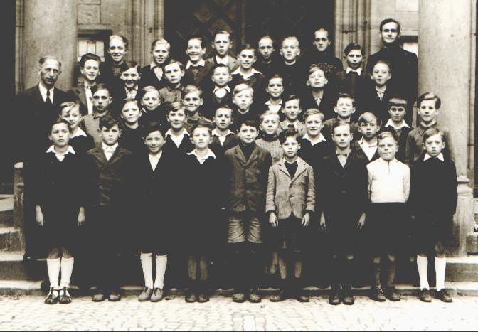 Geburtsjahr 1934 bis 1937, Klassenbild ca. von 1943