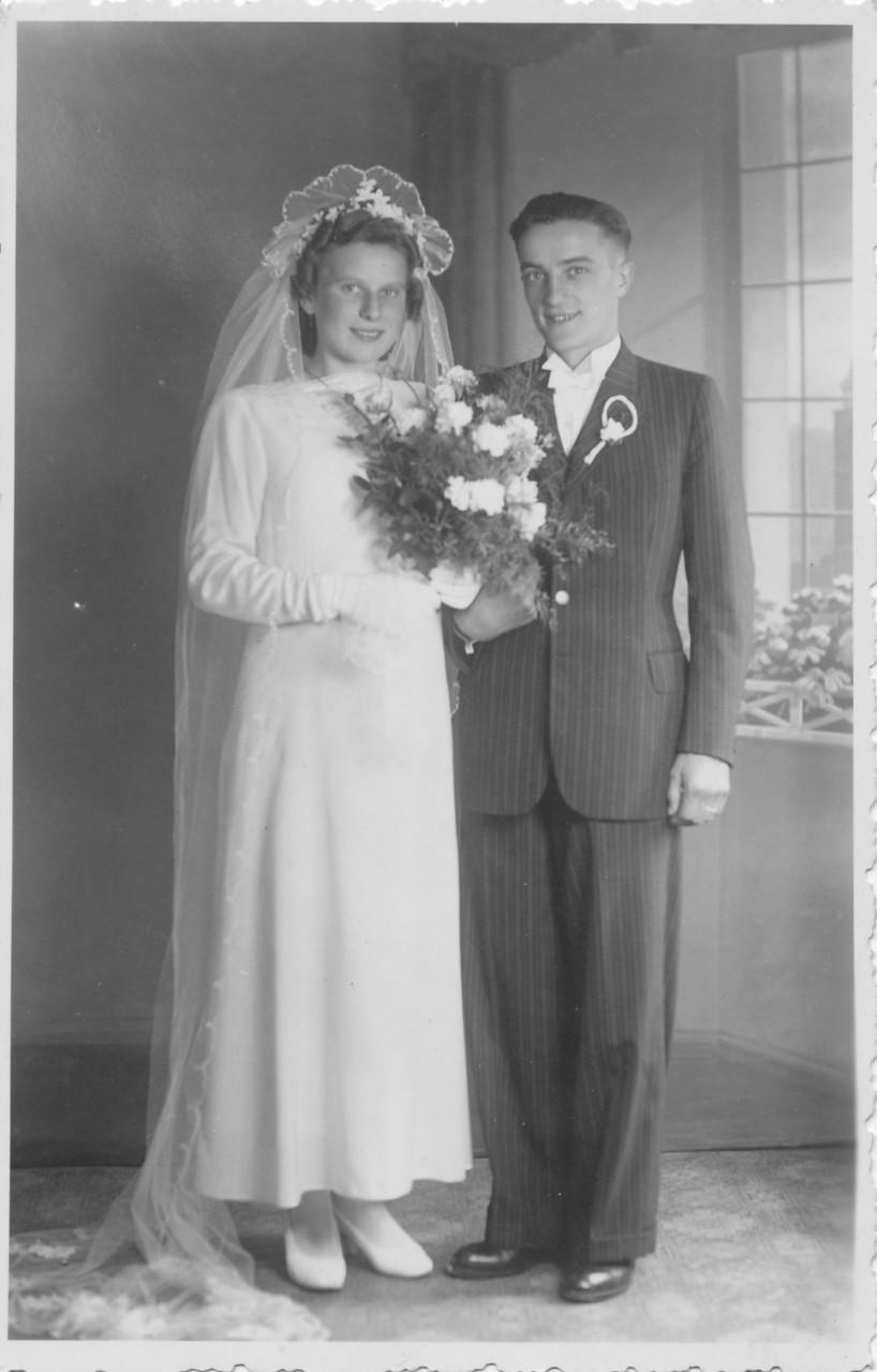 Ehepaar August Schaaf und Frieda (aus Kirrweiler)