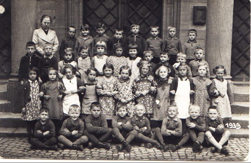 Geburtsjahrgang ca. 1933, Klassenbild von 1939