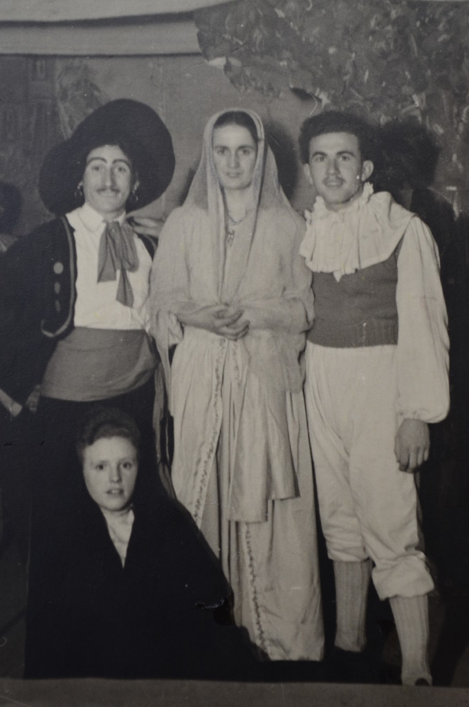 Wagner Richard, Hildegunde Sprißler, Fritz Weber und Trudel Birkle