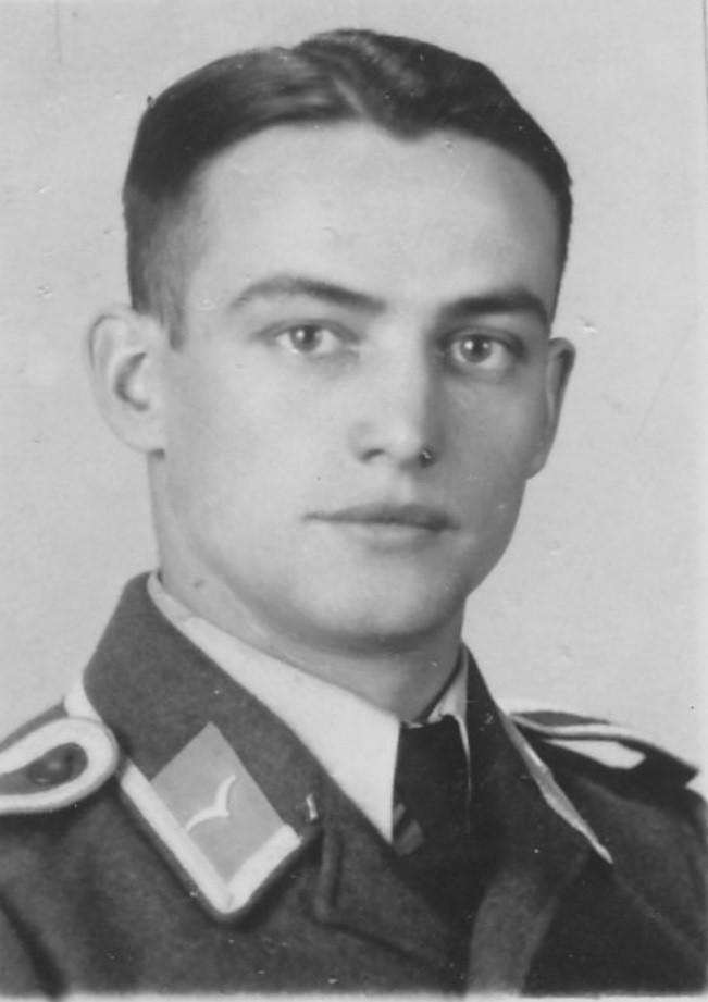 Eugen Schaaf als Fallschirmjäger auf Kreta