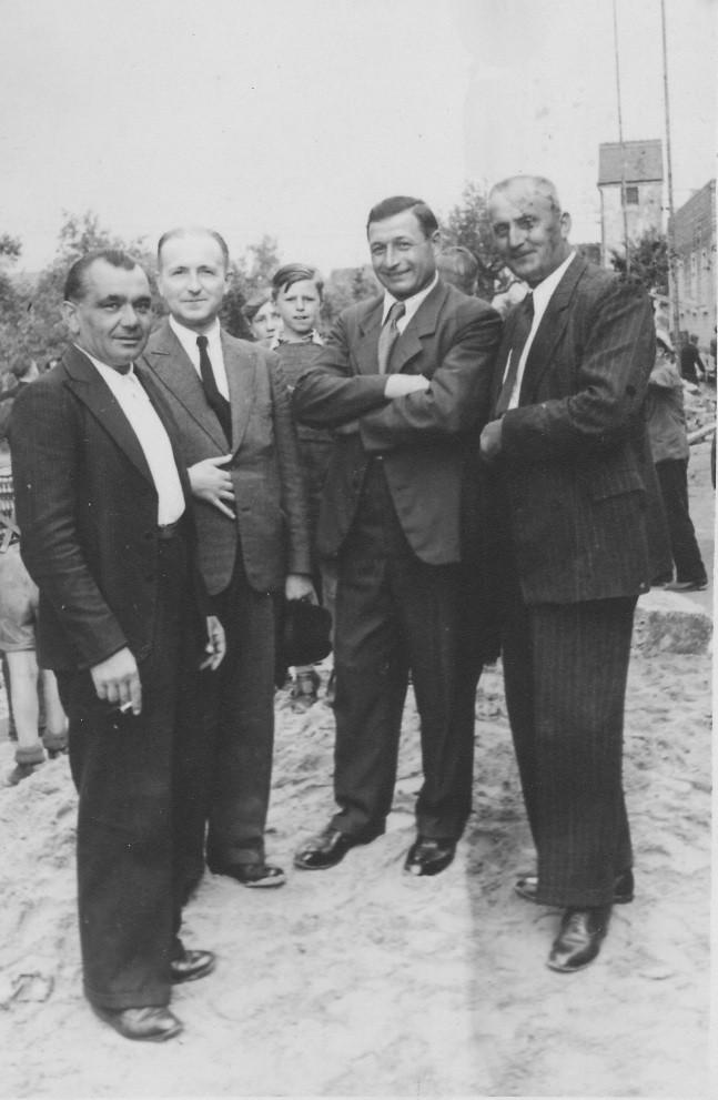 Franz Gruber, Dr Alfons Hofmann, Arthur Aschbacher