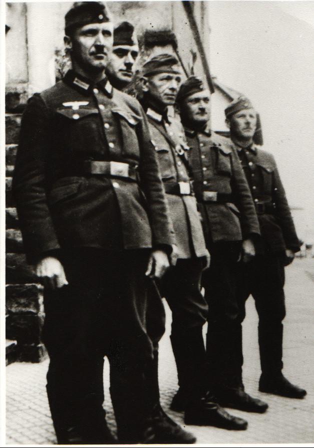 Soldaten aus Geinsheim, 1940, Kästel Friedrich, Mattern Jakob, ... Funk Jean