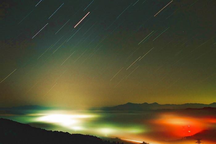 火星大接近光のファンタジー 山本山