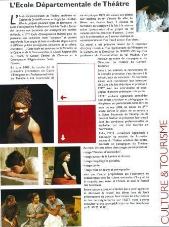 Journal d'info Seine-Essonne - Août 2008