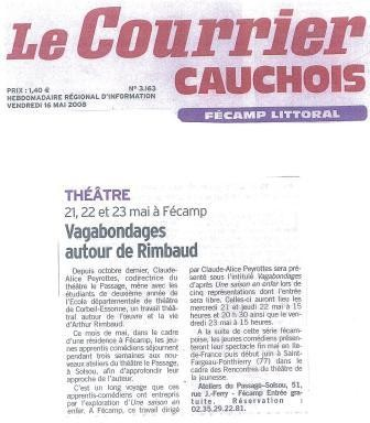 Le Courrier cauchois - mai 2008