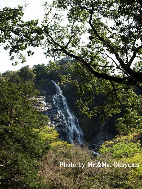 千尋(せんぴろ)滝:落差約150mの大瀑布