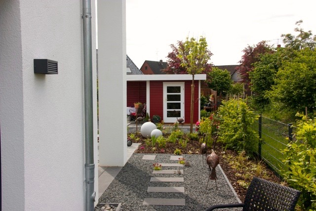 Einfamilienhausgarten 9