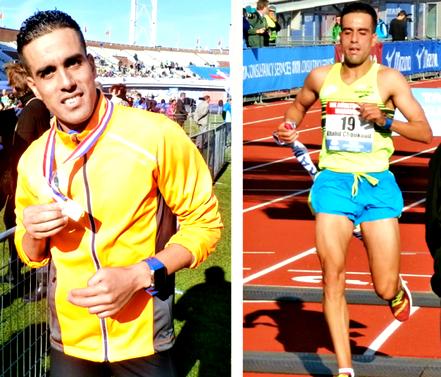 Khalid Choukoud Nederlands kampioen op de marathon