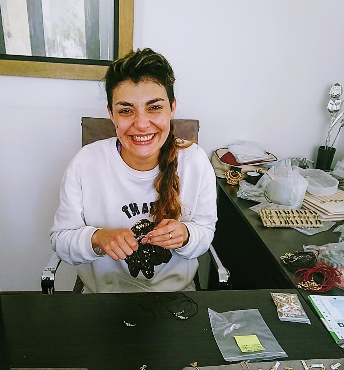 Monica (Emeraude et bijoux pré colombiens)