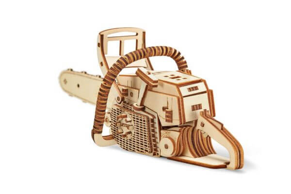 Das Stihl 3D-Holzpuzzle - Basteln Sie Ihre eigene Motorsäge