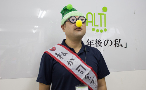 職業指導員の上野です。