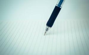 【画像】ノートとペン
