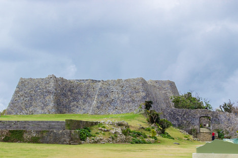 世界遺産中城城の石垣