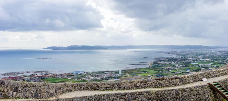 【画像】中城城跡頂上からの圧巻の景色