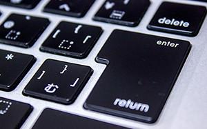 【画像】Macのキーボード