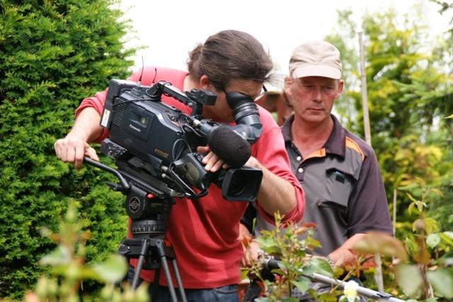 Filmteam MDR Garten
