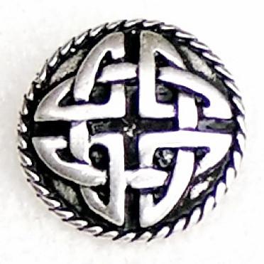 Zierniete keltischer Knoten klein 1,8 cm 4,00 Euro je Niete