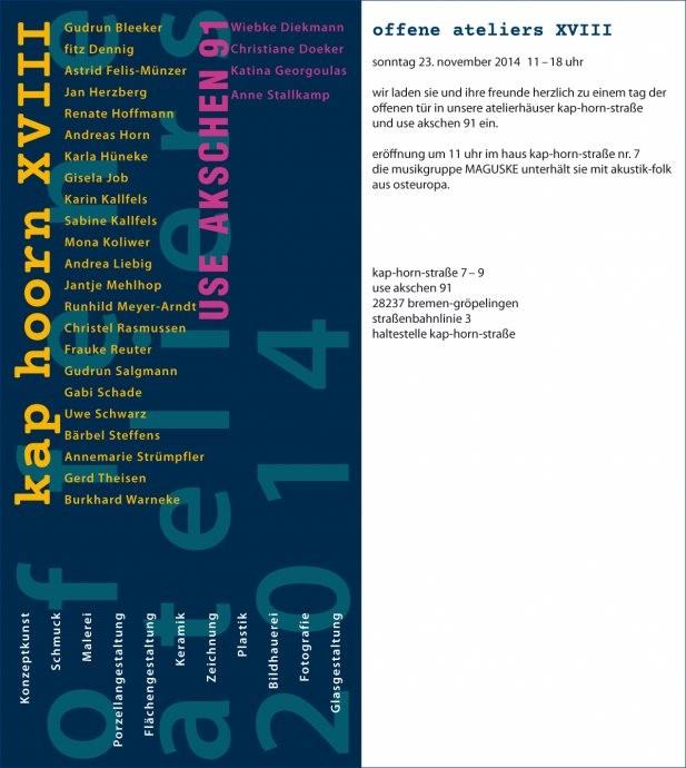 Kap-Hoorn ART Offene Ateliers