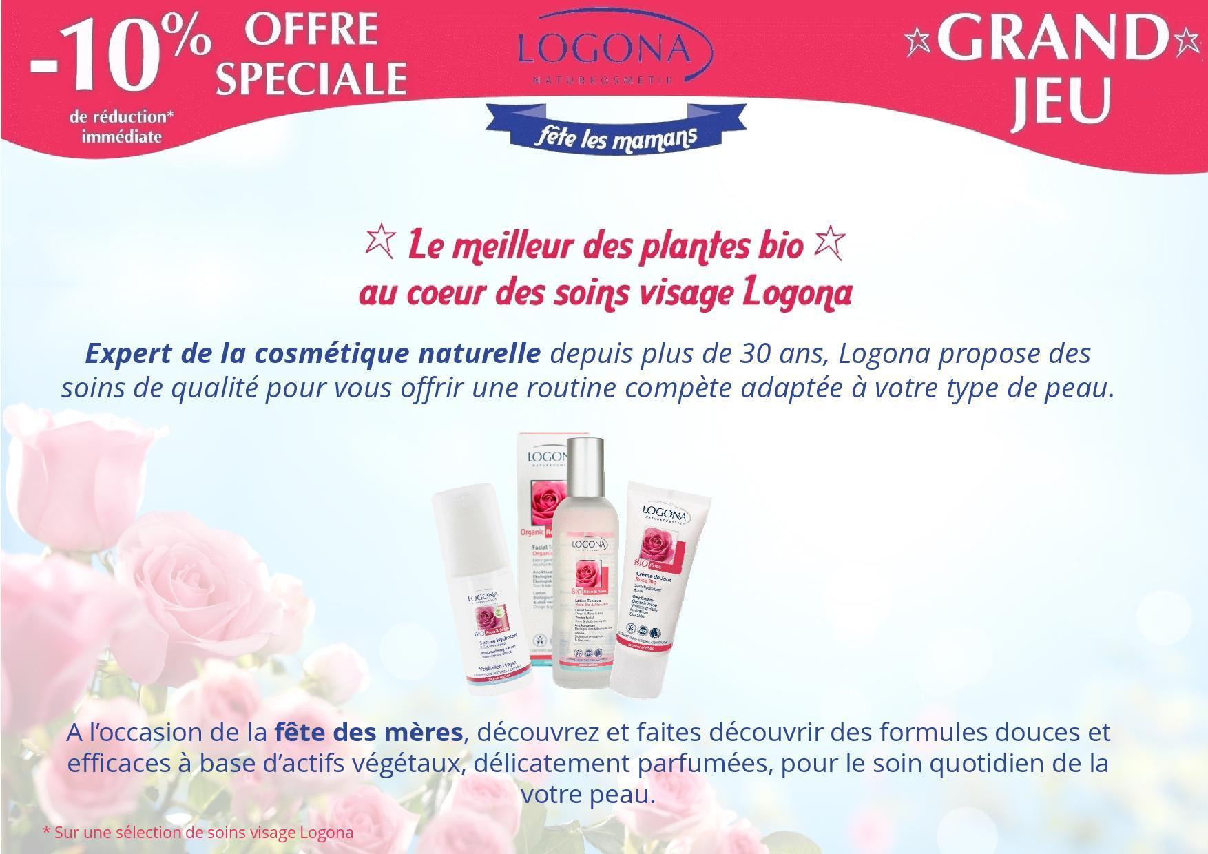 Réalisation de fleurs pour la promotion du nouveau produits Logona spécialiste de cosmétiques natureles