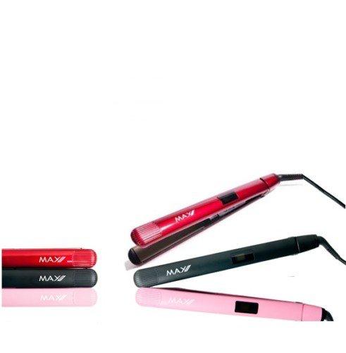 De Max Pro Evolution Stijltang beschermt jouw haar tijdens het stijlen en/ of krullen dankzij de 100% titanium platen en is vanwege zijn lichtgewicht gemakkelijk in gebruik.