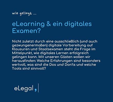 [Verschoben auf 6.7.] Kurzvortrag über digitale Examensvorbereitung