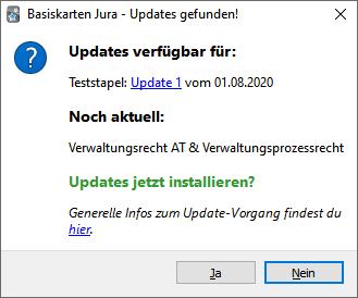 updates verfuegbar
