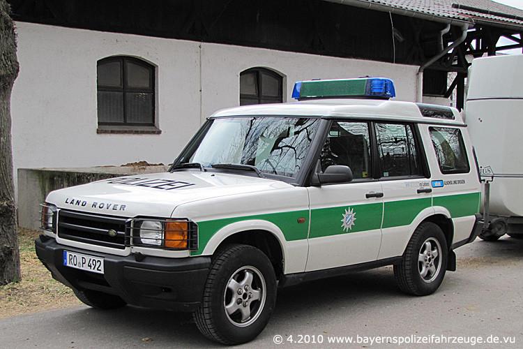 Rosenheim hat jetzt ein eigenes Polizeipräsidium, deshalb 2010 mit Rosenheimer Kfz.-Zeichen