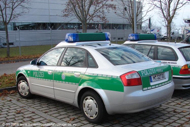 Audi A4s P0127 Blaulichtwelten De Mit Bayerns