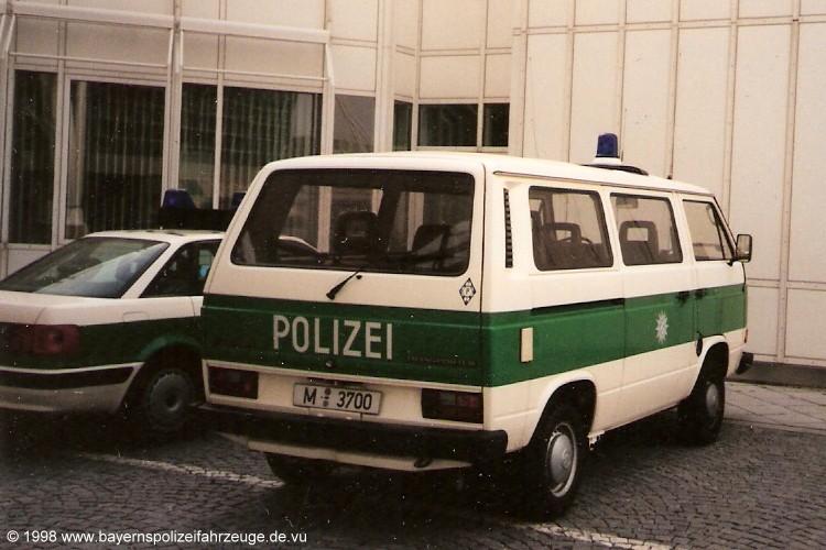 Im Abteilungswappen ist ein P. Aufgenommen am Flughafen München.