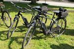 Fahrräder der bay. Polizei