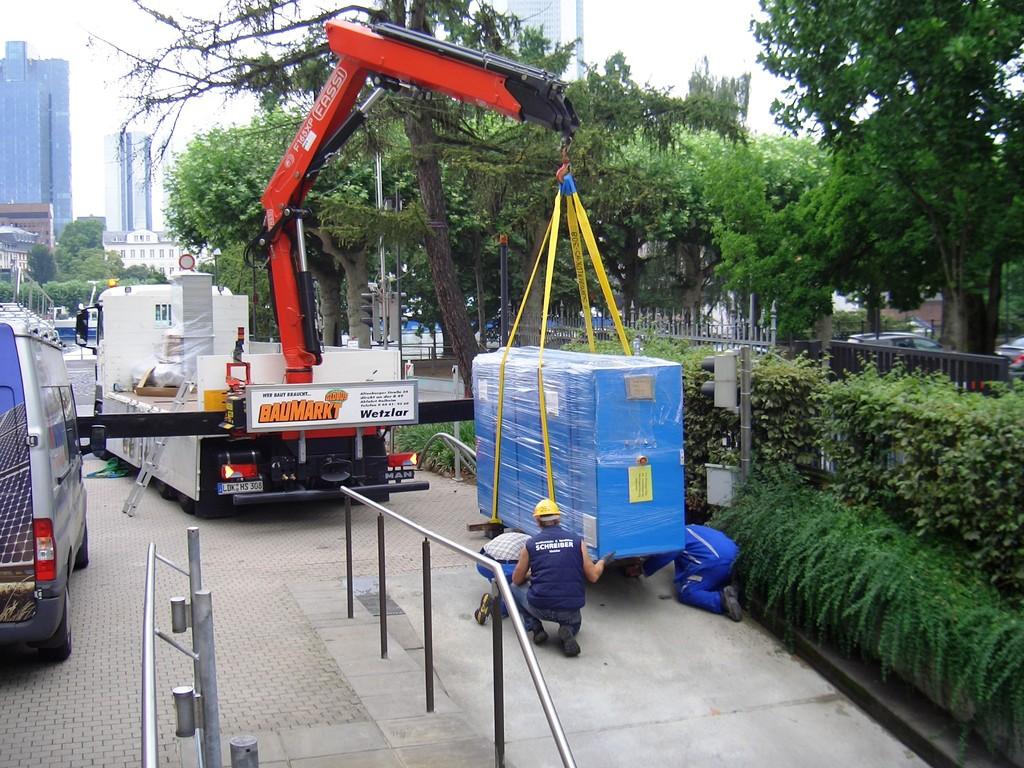 ein Blockheizwerk für Frankfurt Innenstadt