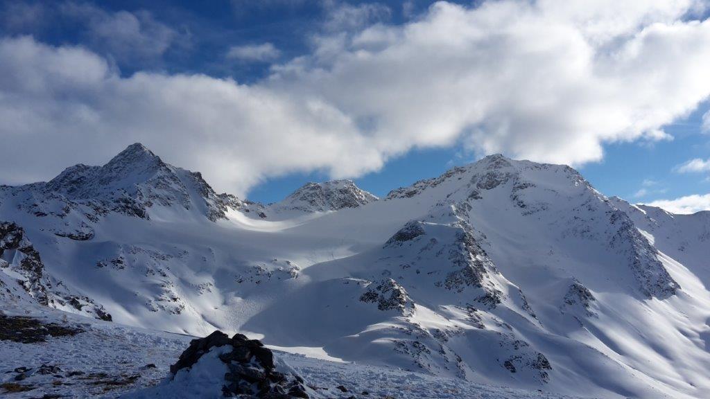 Skitouren um die Sesvenna Hütte - Piz Schadler - Piz Rims